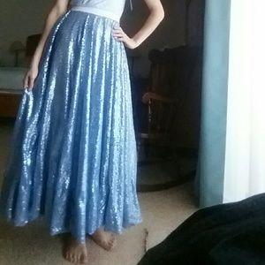 ☆Boutique Maxi Sequin Skirt ☆ ThePrincessesArmoire